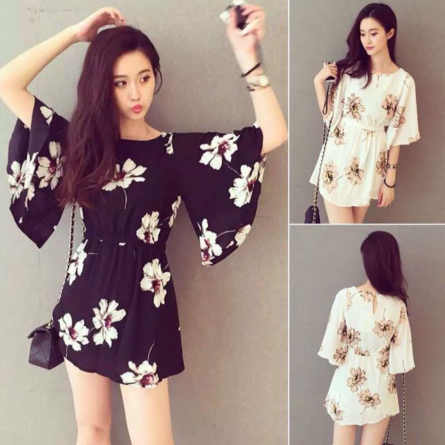📬💌 Floral Beach Dress