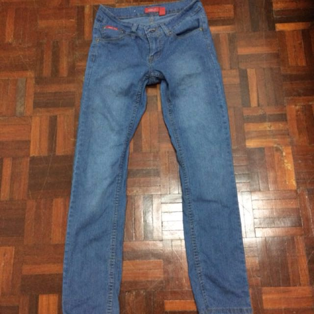 💕 Goggles Slim Fit Jeans Light Blue