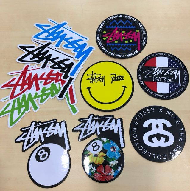 🎱 Stussy Sticker s3 10pcs 1set