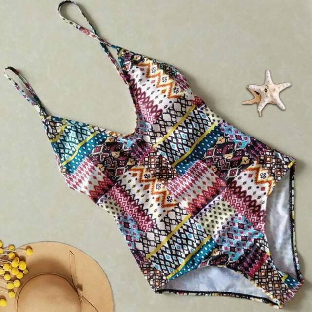 A042 One Piece Swimsuit