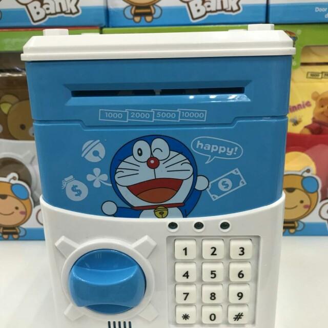 多啦A夢密碼保險箱/兒童存錢筒