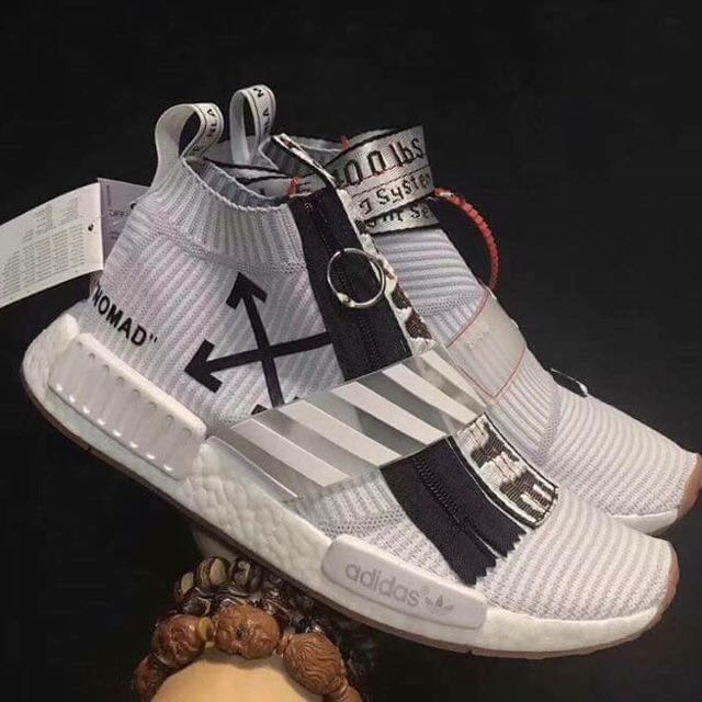 Adidas NMD City Socks x Off White