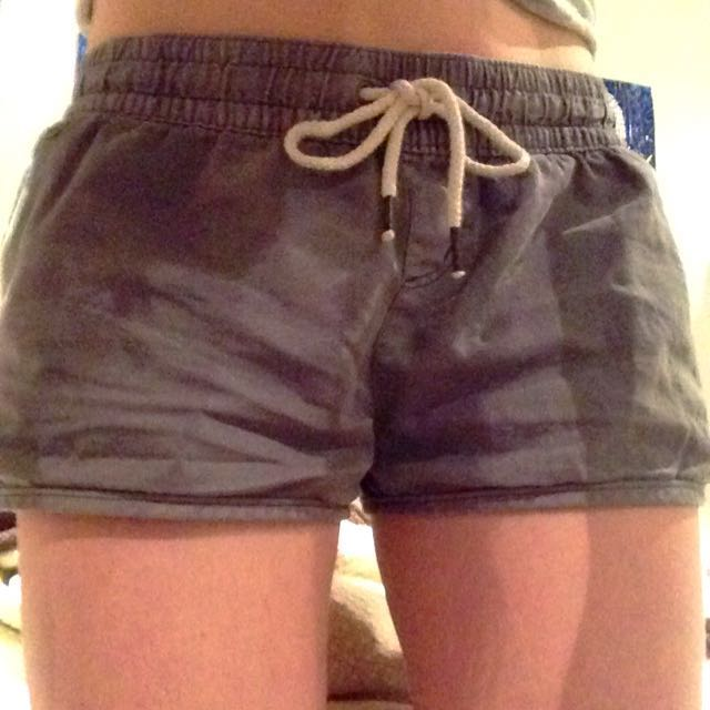 all about eve. gray shorts