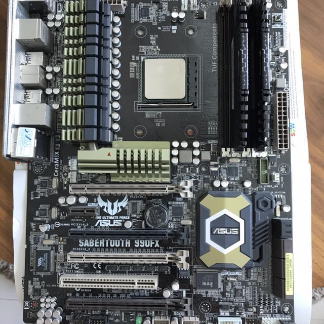 AMD FX-8370, Asus 990FX motherboard & Corsair 2x4GB DDR3