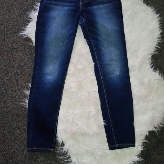 American Eagle Outfitters Hi-Rise Jeggings US 8 Short Super Stretch Skinny Jeans