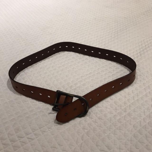 Aritzia leather belt