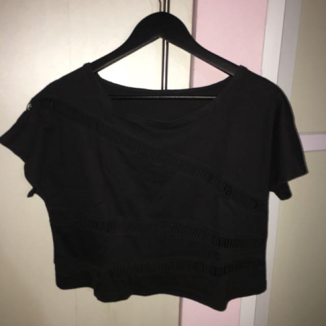 Atasan hitam / black top