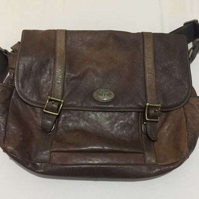 Authentic Fossil Man Massenger Bag