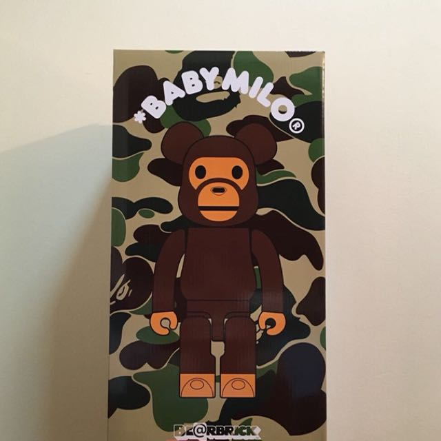 f1fc4731 Babymilo bearbrick 1000% be@rbrick, Toys & Games, Other Toys on Carousell