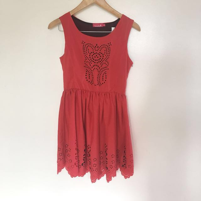 BADO Red Dress