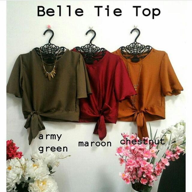 Belle Tie Top