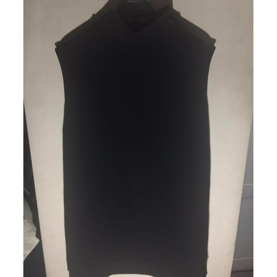 Black Turtleneck Dress (M-L Size)