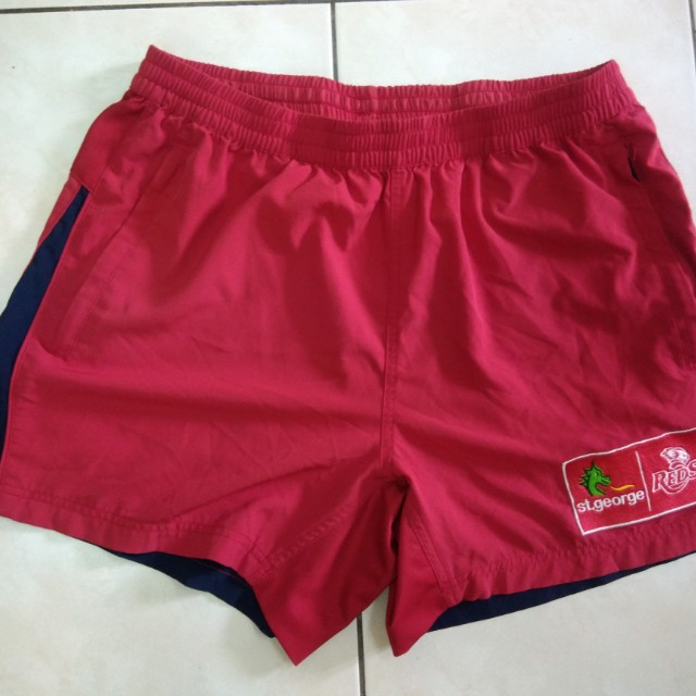 BLK rugby REDs short