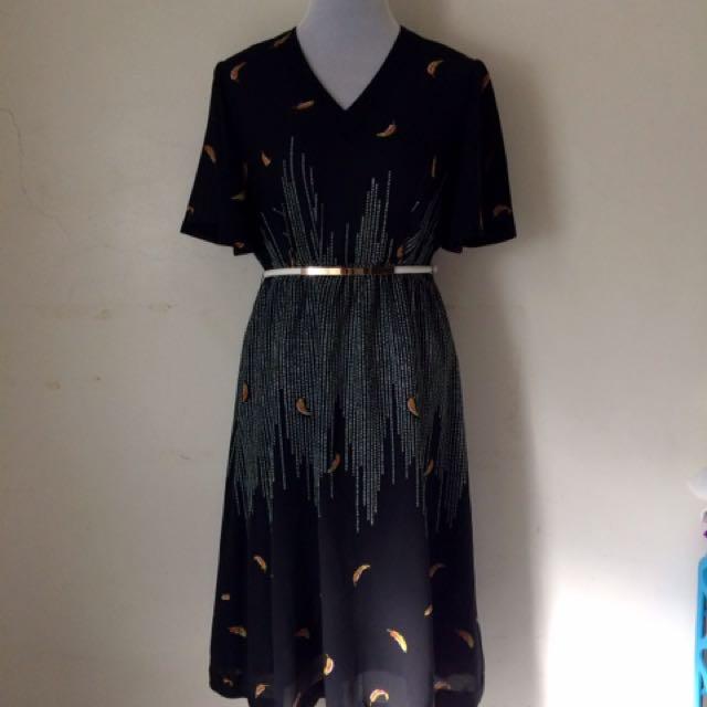 Bloggers Vintage Midi Dress