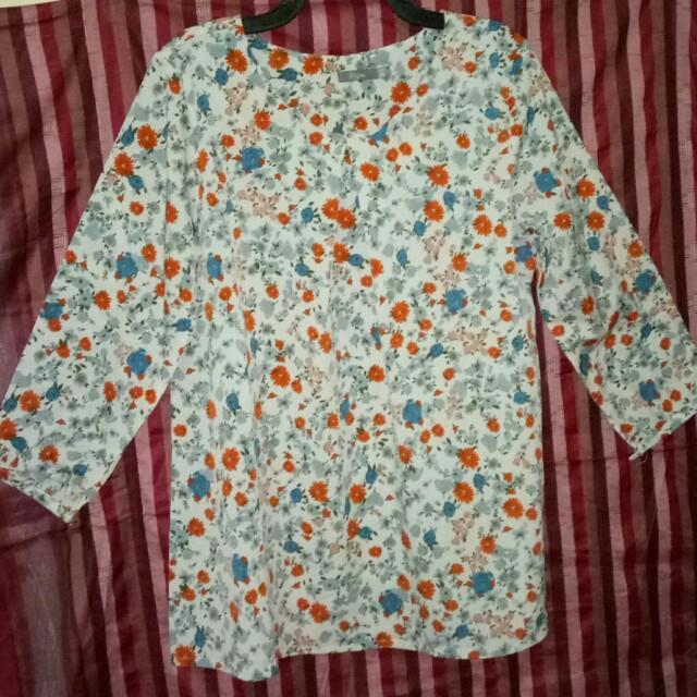 Serba 40rb - Blouse 'Style' bunga2