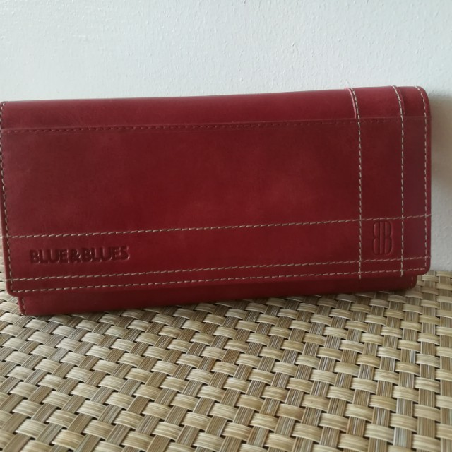 Blues & blues Ladies leather wallet