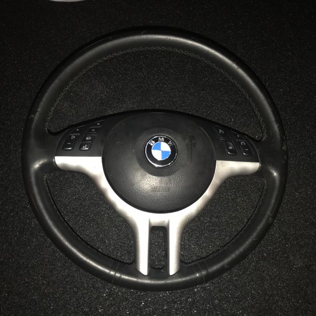 BMW e46 steering