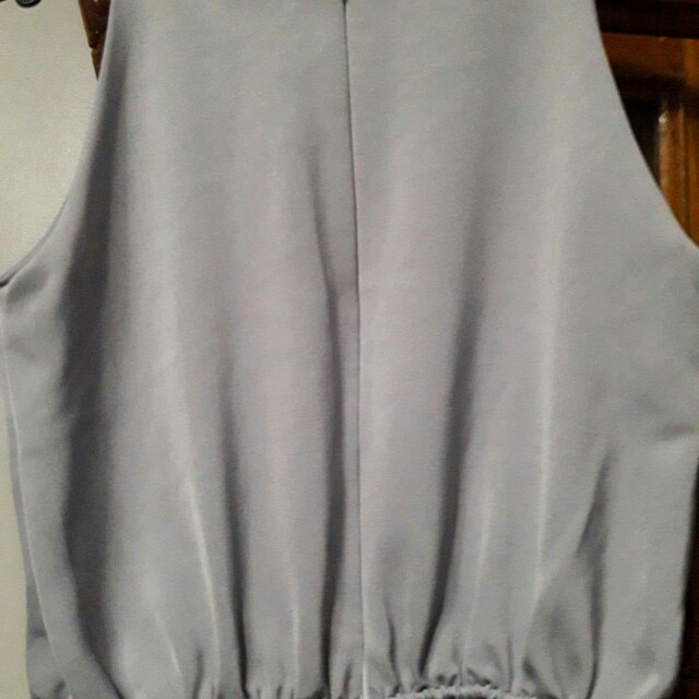 (repriced) So FAB gray jumpsuit