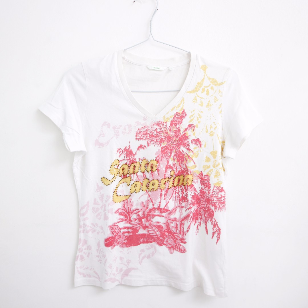 Bossini White Catarina Tee