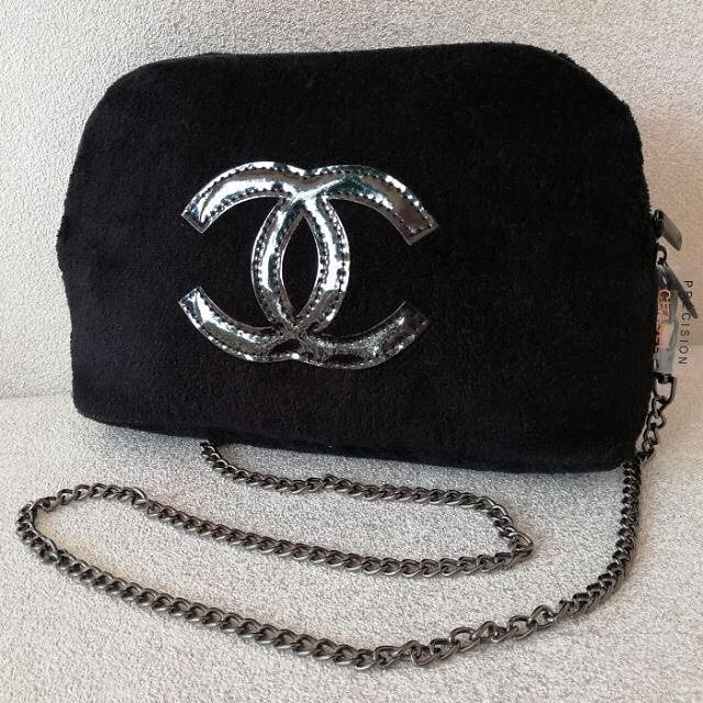 Brand New Authentic chanel furry sling