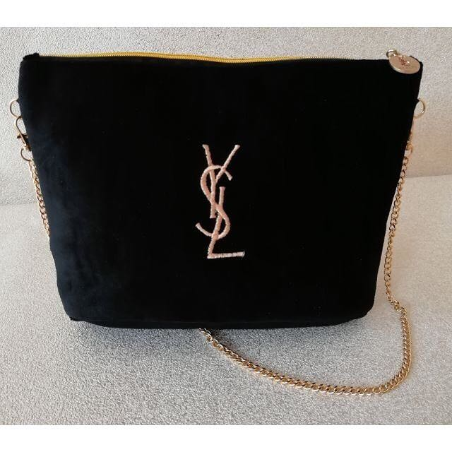 Brand New Authentic YSL furry sling