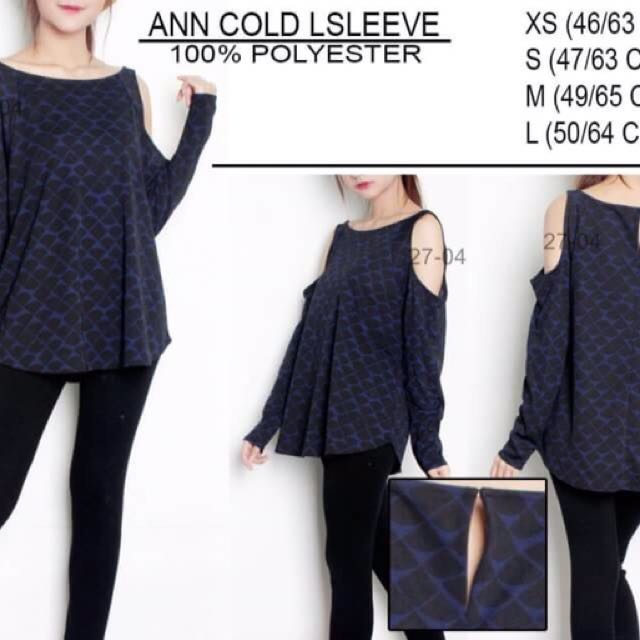 Branded ANN Cold Lsleeves