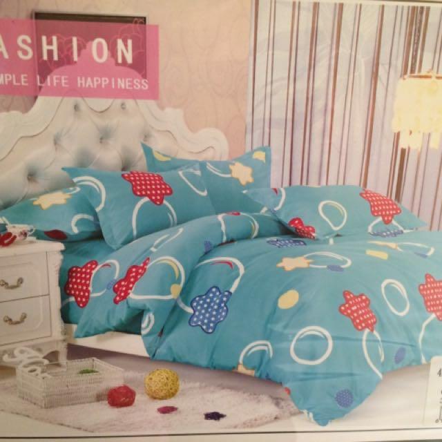 Brandnew 4in1 Bedsheet (Single mattress)