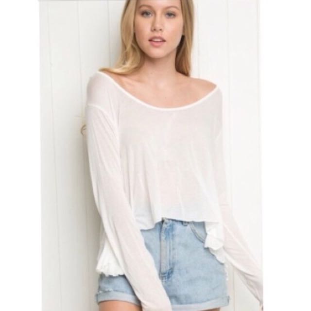 brandy melville loosely fit top