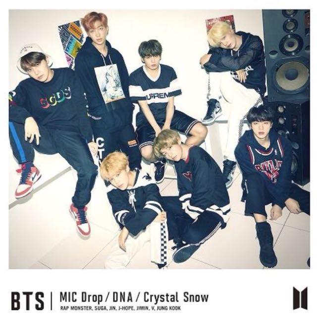 BTS DNA Japanese Single Album [MIC Drop / DNA / Crystal Snow]
