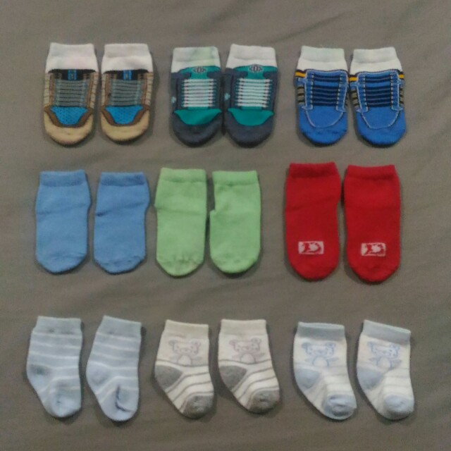 Bundle: Take all for Php100, Size: Newborn to 6mos.
