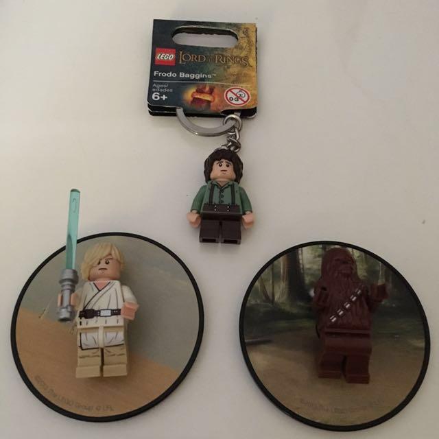 Bundle sale)Lego Fridge Magnets & Key Chain, Everything Else, Others ...