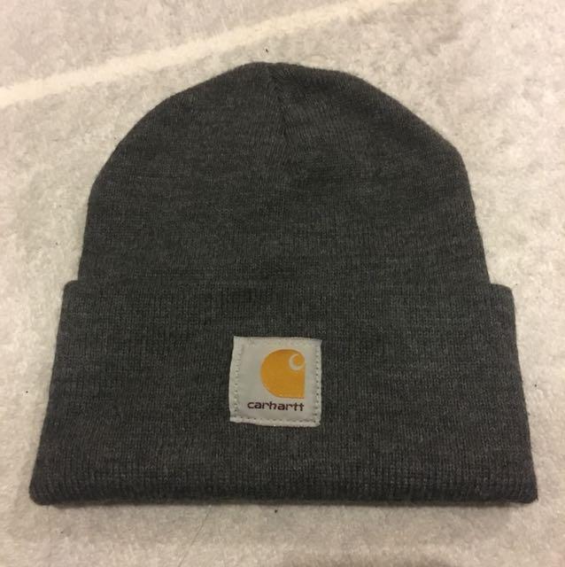 Carhartt 深灰色毛帽
