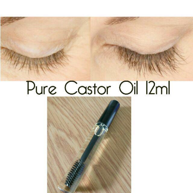 Castor oil (12ml mascara bottle)