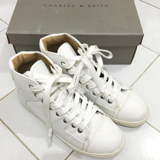 Charles & Keith High-Cut Sneakers