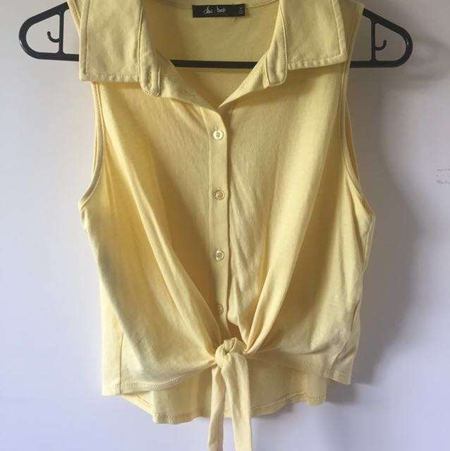 Chicabooti Tie Up Shirt