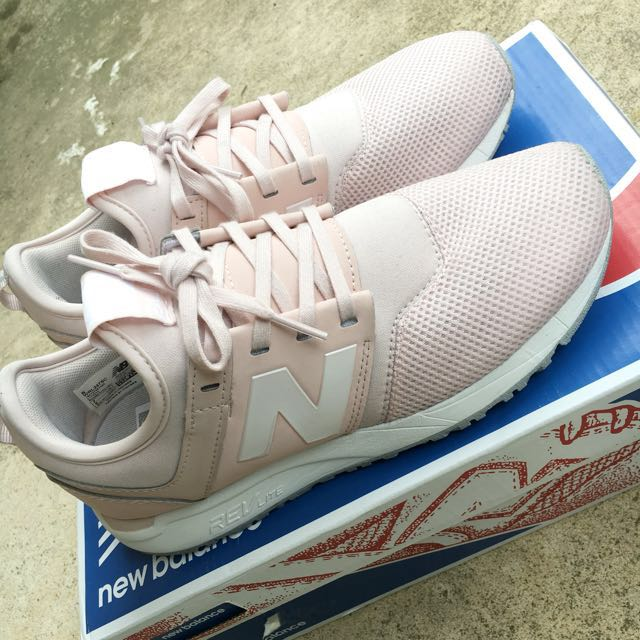 Classic Pink New Balance 247 Sneakers