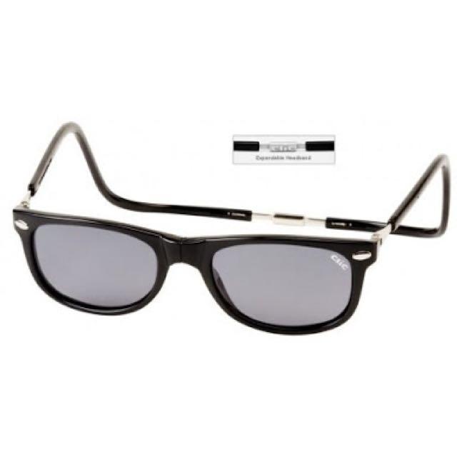Clic Ashbury sunglasses original expandable black