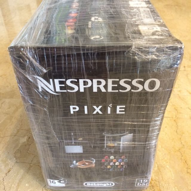 Coffee Machine Nespresso Pixie Red
