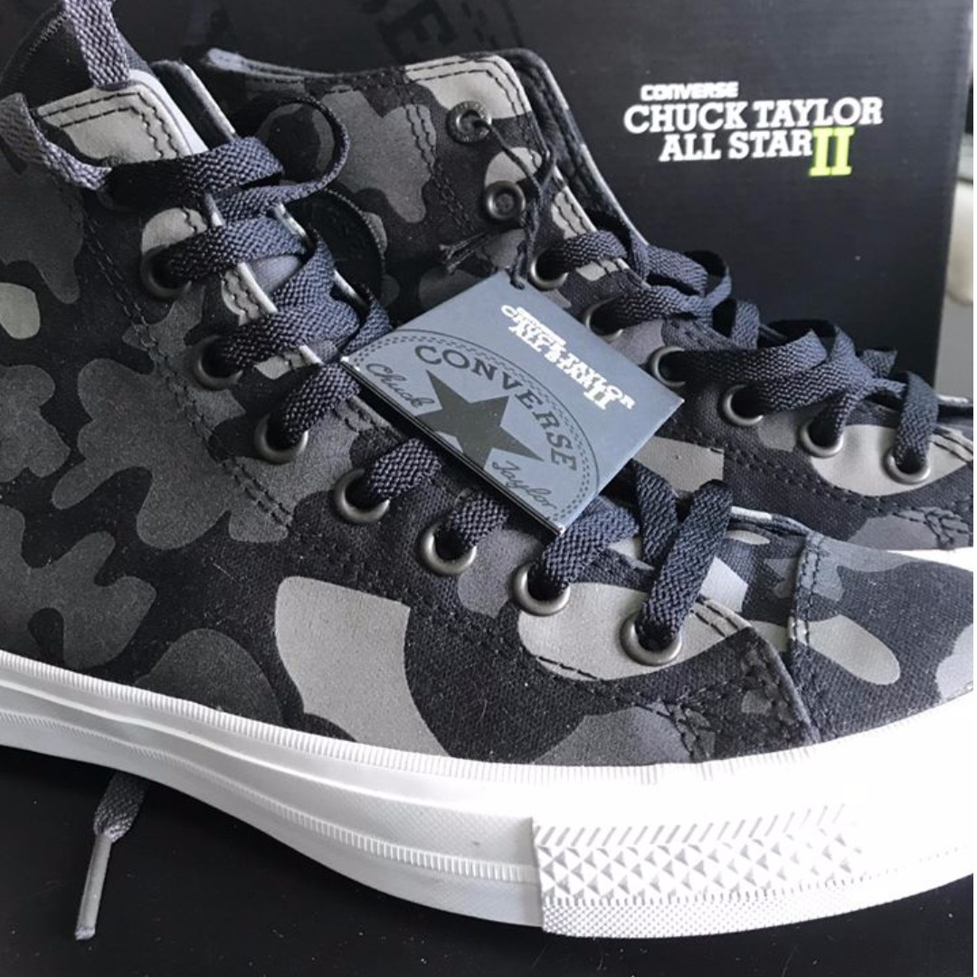 Converse Chuck Taylor All Star II Black / Camo
