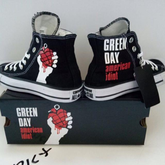 Converse Chuck Taylor Green Day 8aa52076c