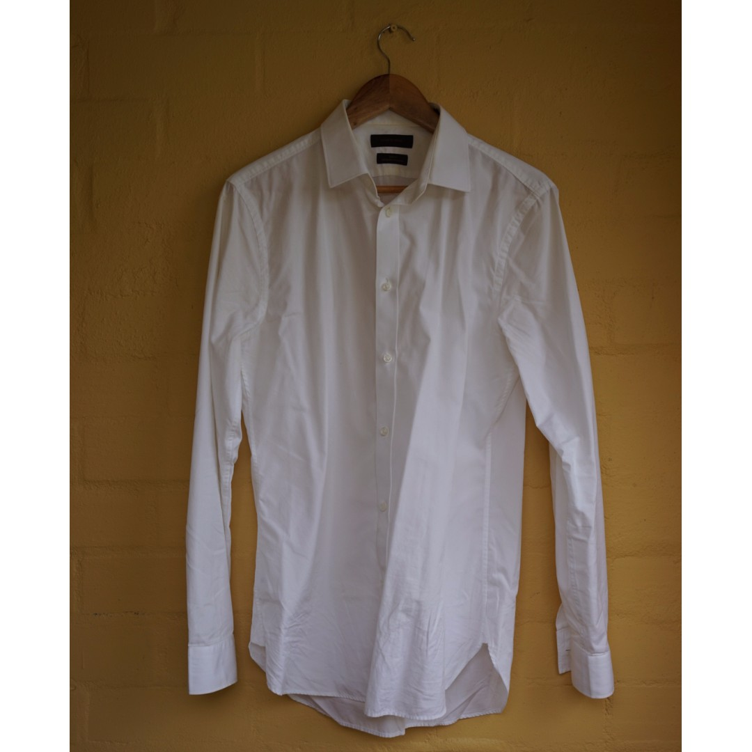 Country Road Premium Slim Fit 2-PLY Cotton Shirt
