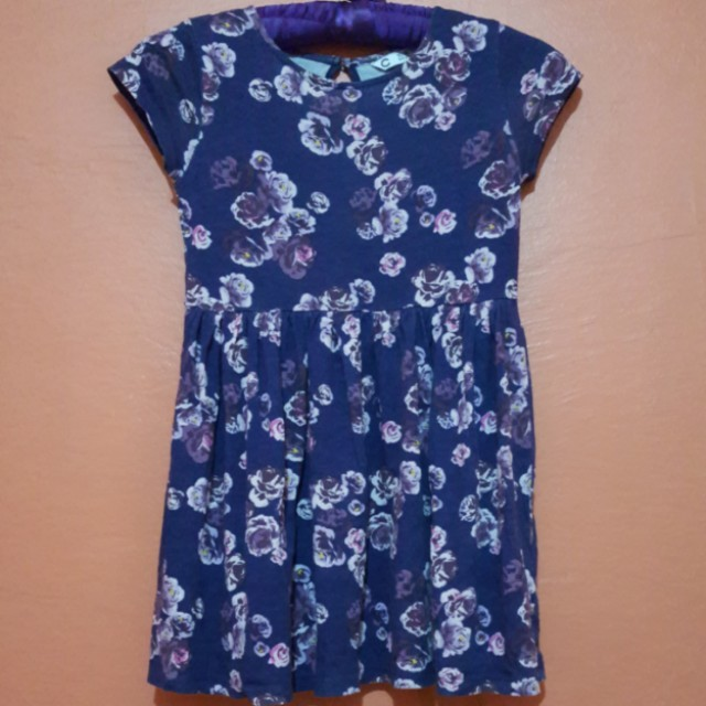 Cubus Purple Floral Dress