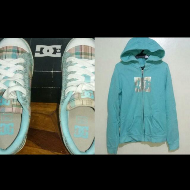 DC Hoodie And Shoes