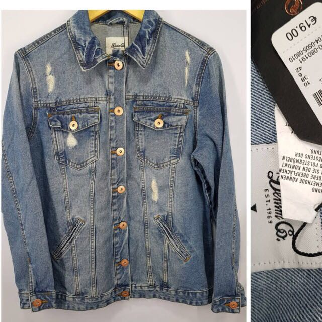 DENIM CO. OVERSIZED DENIM JACKET