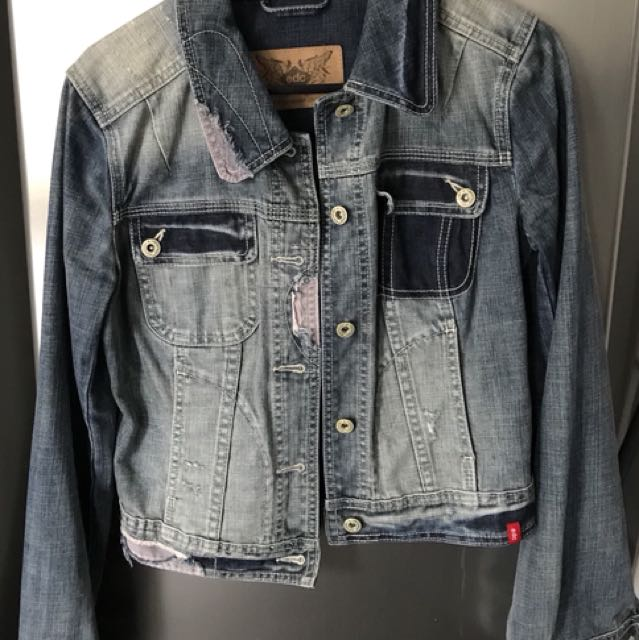 Denim Jacket EDC Brand (Medium Size)
