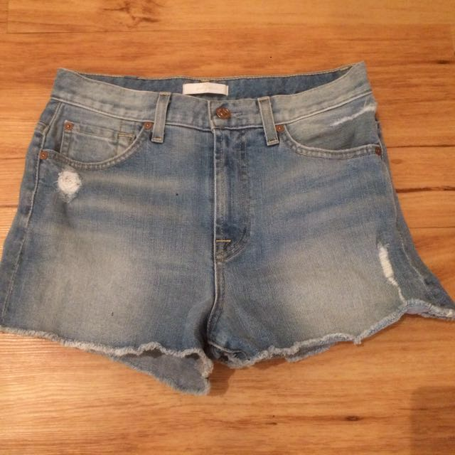 Denim Shorts- 7 of mankind