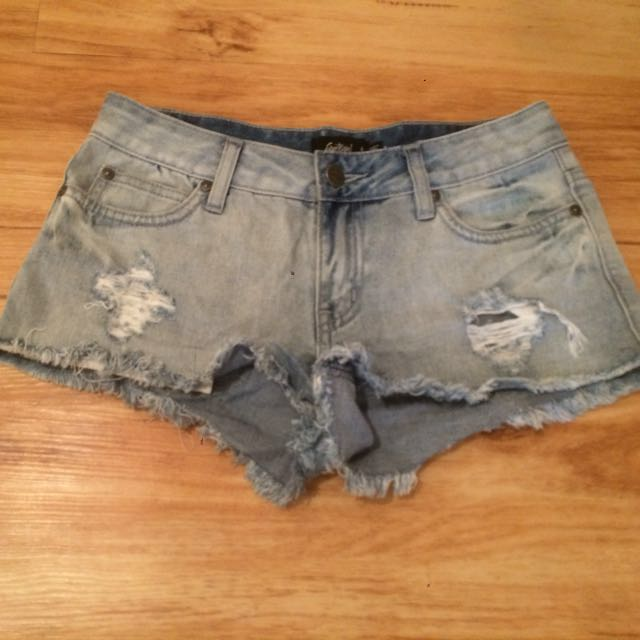 Denim Shorts- Sportsgirl