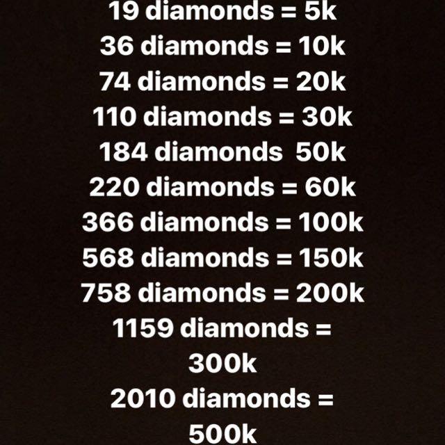 Diamonds Mobile Legends murah