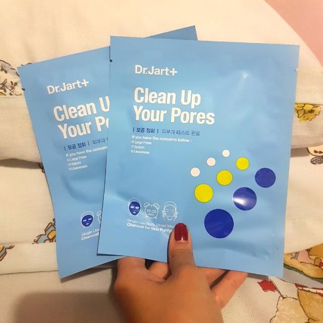 Dr. Jart+ Clean Up Your Pores Facial Mask