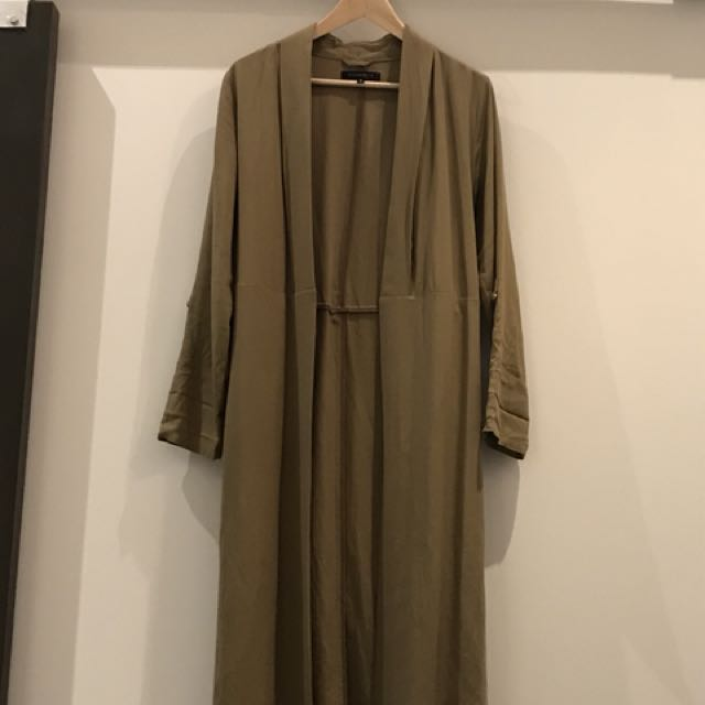 Dynamite trench in olive green